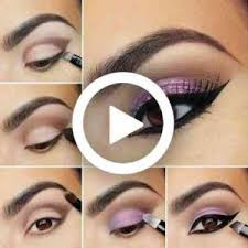 step by step eyes makeup start to