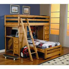 Twin Bunk Bed Ladder Bedroom Furniture Kids Children Adults Sleep L Shaped Home For Sale Online