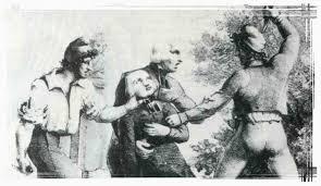 Massacre des prêtres au couvent des Carmes en septembre 1792