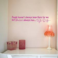 Taylor Swift Music Always Has Quote Wall From Stickitthere On