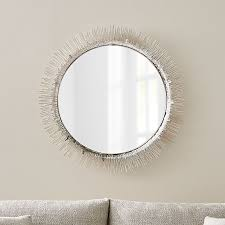 clarendon large round silver wall
