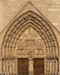 portail de la vierge cathédrale notre
