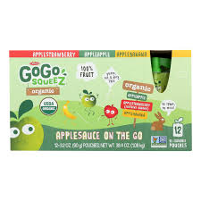 gogo squeez organic variety pack