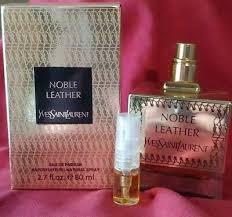 yves saint lau noble leather eau de