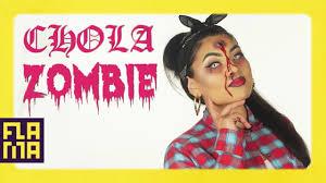 chola zombie makeup tutorial