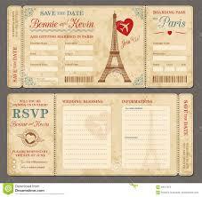 Invitacion De La Boda De Paris Ilustracion Del Vector Ilustracion De Apenado Raffle 58517654