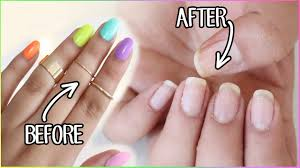 how to remove fake nails kiss glue on