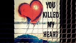 break up heart broken sad status