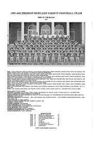 Moeller High School 1995-96 Football Articles by Archbishop Moeller High  School - issuu