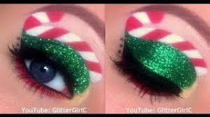 candy cane elf makeup tutorial merry