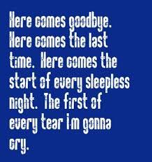goodbye quotes sayings song lyrics collection of inspiring
