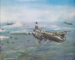 B-26 Marauders over France Open Edition Military Art USAF   Etsy