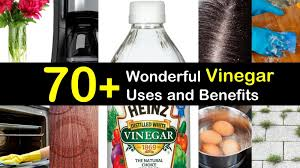 70 wonderful uses of white vinegar