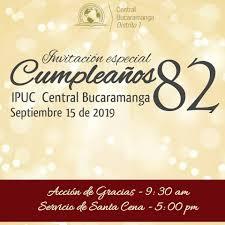 Ipuc Bucaramanga Central الصفحة الرئيسية فيسبوك