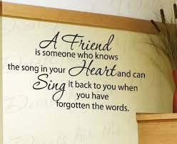 quotes about friendship song quotes