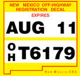 Registration Permits New Mexico Department Of Game Fish
