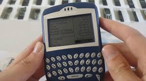 BlackBerry 7230 - YouTube
