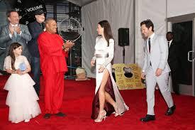Laurence Fishburne, Evangeline Lilly, Paul Rudd, Kevin Feige ...