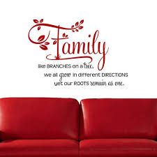 Shop Family Like Branches On A Tree Two Tone Vinyl Wall Decal On Sale Overstock 9046048