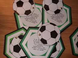 Tarjeta Invitacion Futbol Invitaciones De Cumpleanos Futbol