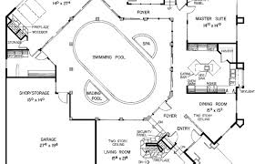 u shaped house with pool bank swimming