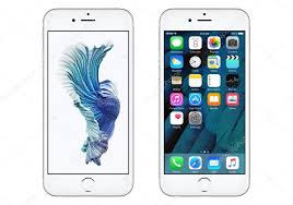 white apple iphone 6s with ios 9 and