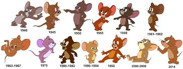 Jerry through the ages Tom and Jerry