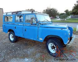 land rover defender 109 station wagon