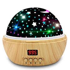 Amazon Com Star Projector Night Light Kids Projector With Timer Baby Night Light Projector For Children Toys Light Boys Girls Gifts Baby