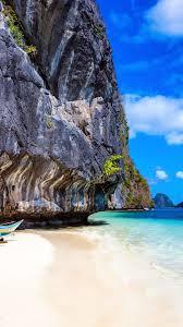 beach rocks sea 1080x1920 iphone 8