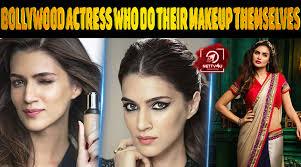 bollywood actress who do their makeup