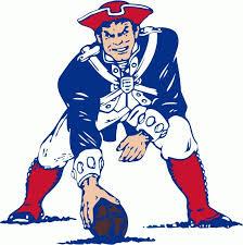 New England Patriots Nfl Color Die Cut Decal Yeti Sti