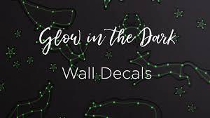 Glow In The Dark Wall Stickers Youtube