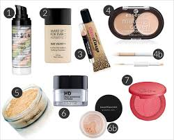 light makeup routine oily skin