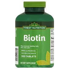 finest nutrition biotin 5000 mcg