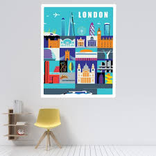 Tate Poster Wall Sticker By Andy Tuohy