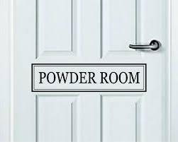 Powder Room Quote Wall Decal Sticker Bedroom Art Vinyl Inspirational D Boop Decals