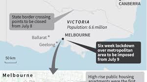 Australia's second-biggest city under ...