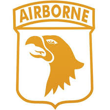 101st Airborne Jumbo Vinyl Transfer Usamm