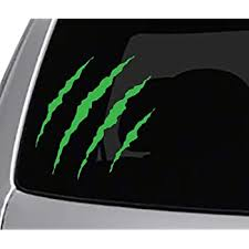 Amazon Com Seek Monster Claw Rips Vinyl Decal Car Truck Window Sticker Cool Headlights Automotive