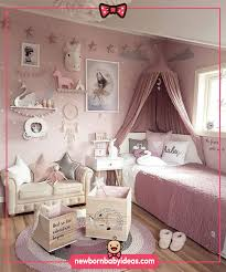 Girl Kids Room Unicorn Concept And Baby Room Paint Ideas Baby Girl Bedroom Girls Bedroom Girl Bedroom Decor