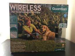 Electronic Fences 116388 Guardian Petsafe Wireless Pet Containment Fence Shock Training Gif 300 11 Buy It Now O Shock Training Pet Containment Systems Pets