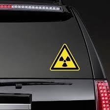 Radioactive Sign Sticker
