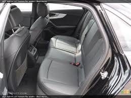 rear seat for the 2017 audi a4 2 0t