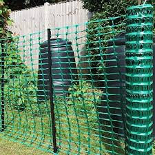 Houseables Temporary Fencing Mesh Snow Fence Plastic Safety Garden Netting Single Green 4 X 100 Feet Above Ground Barrier For Deer Kids Swimming Pool Silt Lawn Rabbits Poultry Dogs Amazon Ca Industrial