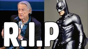 Batman, Joel Schumacher dies at 80 - YouTube