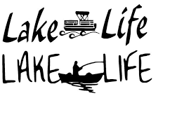 Lake Life Decal For Pontoon Decals For Car Truck Rv Window Etsy Lake Life Pontoon Car Decals