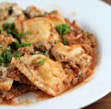 sausage ravioli lasagna recipe cully