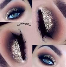 sparkly eye makeup evening makeup