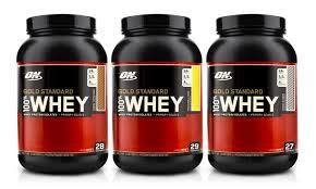 gold standard whey protein tub